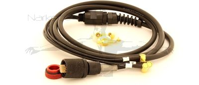 3 cell SMB (Co-ax) cable assemblies (To Fit The  OSTC cR DIVE COMPUTER)