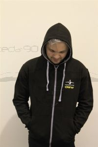 Narked at 90 Zipped Hoodie (LARGE)