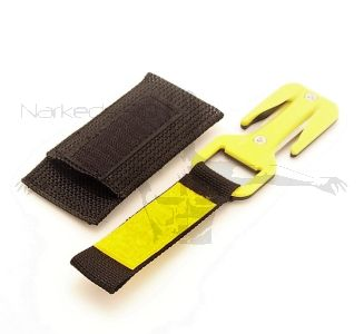 Eezycut TRILOBITE Emergency Cutting Tool - Black and Yellow