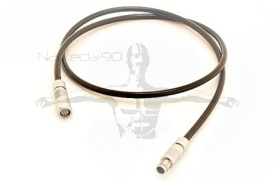 Female Fischer to Male Fischer 1m Cable - (PATCH CABLE)