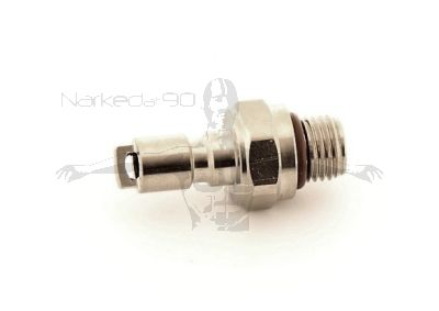 QD-BC-ZM  BCD male nipple to 3/8 male thread