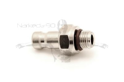 "QDM-ZM  3/8"" Male x QD Nipple"
