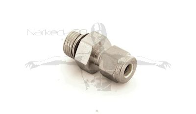 Swagelok 9/16 -18 Male To 1/4 Pipe or Cable (SS-400-1-6STCP)