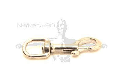 Stainless Swivel Eye Bolt Snap 90mm